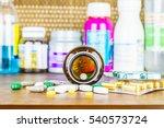 drug prescription for treatment ... | Shutterstock . vector #540573724