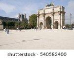 paris  france  october 21  2012.... | Shutterstock . vector #540582400