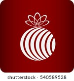 icon of a gift | Shutterstock .eps vector #540589528