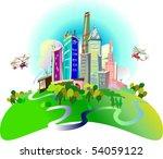 cityskype | Shutterstock .eps vector #54059122