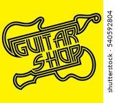 vector logo template of the... | Shutterstock .eps vector #540592804