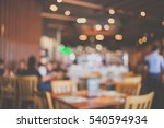 the restaurant blurred... | Shutterstock . vector #540594934