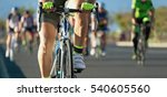 cycling competition cyclist... | Shutterstock . vector #540605560