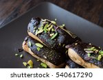chocolate eclairs with... | Shutterstock . vector #540617290