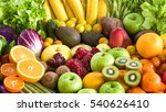Various Fresh Fruits And...