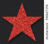 red star | Shutterstock .eps vector #540627196