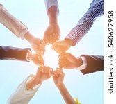 business people hands as symbol of their partnership and strong teamwork