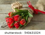 valentine's day concept  ... | Shutterstock . vector #540631024