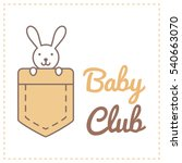 vector logo template for child... | Shutterstock .eps vector #540663070