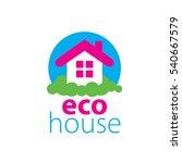 vector logo house   Shutterstock .eps vector #540667579