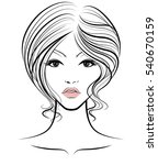 illustration of women short... | Shutterstock .eps vector #540670159