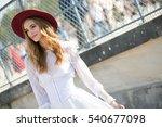 paris october 3  2015. famous... | Shutterstock . vector #540677098