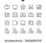 communication pixel perfect... | Shutterstock .eps vector #540689194