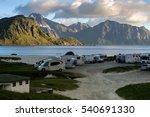 lofoten  norway   june 29  2015 ...   Shutterstock . vector #540691330