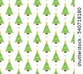 cute flat design emoji... | Shutterstock .eps vector #540718180