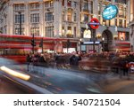 london  england   december 17 ... | Shutterstock . vector #540721504