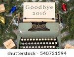 Christmas Concept   Typewriter...