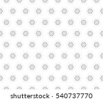 abstract decorative floral... | Shutterstock .eps vector #540737770
