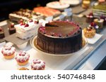 pies and cakes  shop | Shutterstock . vector #540746848