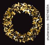 abstract gold glitter splatter... | Shutterstock .eps vector #540748054