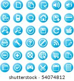 web icons | Shutterstock .eps vector #54074812