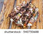 Skewers Of Grilled Vegetables...