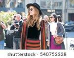 paris october 1  2015. famous... | Shutterstock . vector #540753328