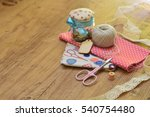 sewing kit | Shutterstock . vector #540754480