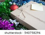 christmas or new year presents...   Shutterstock . vector #540758296