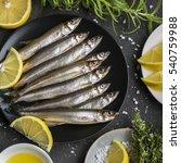 Fresh Sea Fish Smelt Or...