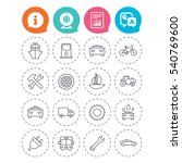 transport and services icons.... | Shutterstock .eps vector #540769600