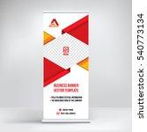 banner roll up design  business ... | Shutterstock .eps vector #540773134