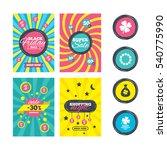 sale website banner templates.... | Shutterstock .eps vector #540775990
