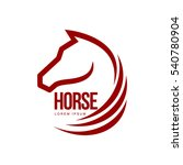 Horse Head Profile Graphic Log...