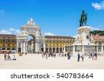 lisbon  portugal   june 24 ... | Shutterstock . vector #540783664