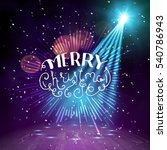show background. merry... | Shutterstock .eps vector #540786943