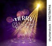 show background. merry... | Shutterstock .eps vector #540786946
