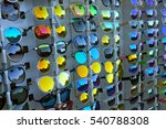 Rows Of Colorful Sunglasses...