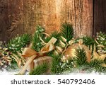 christmas fabulous decoration... | Shutterstock . vector #540792406