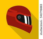 biker sport race helmet icon.... | Shutterstock .eps vector #540798883