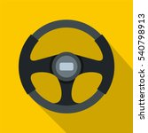 sports car steering wheel icon. ... | Shutterstock .eps vector #540798913
