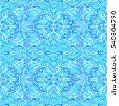 seamless pattern with abstract...   Shutterstock . vector #540804790