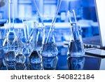 modern laboratory concept.... | Shutterstock . vector #540822184