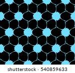 modern geometric seamless... | Shutterstock .eps vector #540859633