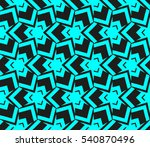 abstract seamless pattern.... | Shutterstock .eps vector #540870496