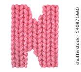 letter n alphabet on a blurry... | Shutterstock . vector #540871660