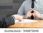 do not pass probation.... | Shutterstock . vector #540873040