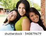 hispanic mother and her... | Shutterstock . vector #540879679