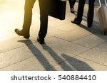businessman walking on city ... | Shutterstock . vector #540884410