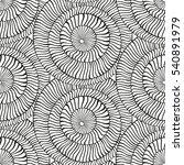 vector black and white... | Shutterstock .eps vector #540891979